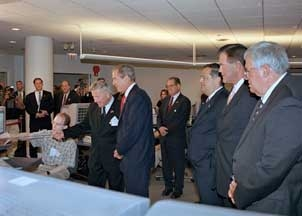 July 22, 2002: Bush at Argonne