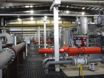 Inter‐stage Piping in Compressor facility (Courtesy of Archer Daniels Midland Company)
