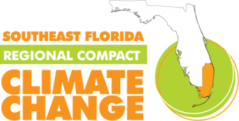 The Southeast Florida Regional Climate Change Compact was executed by Broward, Miami-Dade, Monroe, and Palm Beach Counties in January 2010 to coordinate mitigation and adaptation efforts across county lines. The Compact represents a new form of regional climate governance designed to allow local governments to set the agenda for state and federal agencies to engage with technical assistance and support. │ Image courtesy of the Southeast Florida Regional Climate Compact.