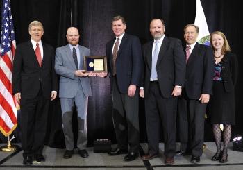 (from left to right) Daniel Poneman; Chad Henderson; Jeff Pitman; Marc Jones; Daniel Lehman; Ingrid Kolb