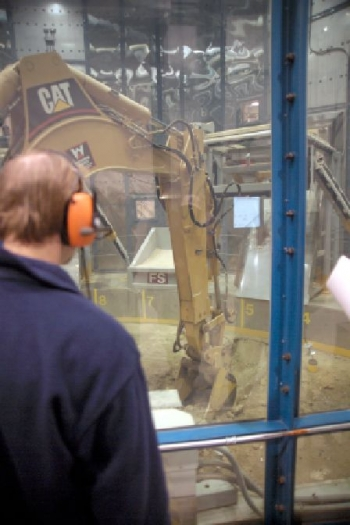 December 12, 2003: Operations begin at Glovebox Excavator Method facility