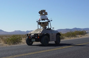 October 4, 2010: Robot on Security Patrol