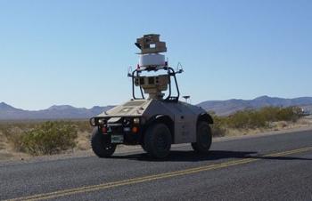 October 4, 2010: Robot on Security Patrol