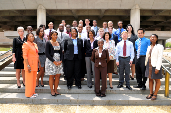 MEISPP Interns at the Department of Energy Headquarters
