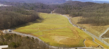 Oak Ridge's EM program regularly monitors capped burial grounds in Melton Valley, near the Oak Ridge National Laboratory.