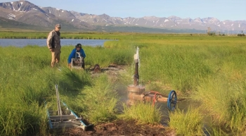 Image of the Week: Energy Department investments are exploring for geothermal power from abundant natural resources in Alaska. photo courtesy of Frontier Scientists.