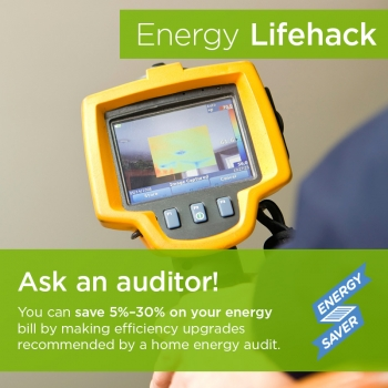 Upgrades following an energy audit can save you money and improve the comfort of your home.