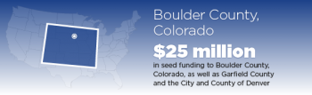 BOULDER COUNTY CUSTOMERS GET ENERGYSMART AND SAVE