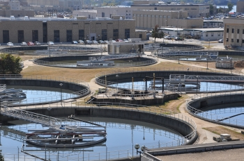 DC Water's Blue Plains Advanced Wastewater Treatment Plant. Photo courtesy of DC Water.