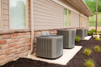 Central air conditioners circulate cool air through a system of supply and return ducts. | Photo courtesy of ©iStockphoto/DonNichols.