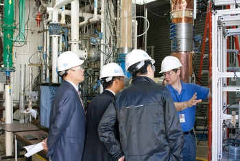 Members of China's Shenhua Group visit FE's National Energy Technology Laboratory. Photo courtesy of NETL.