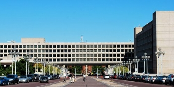 The Forrestal Building, located at L'Enfant Plaza in Washington, D.C., serves as headquarters for the United States Department of Energy. The Geothermal Technologies Office is located within.
