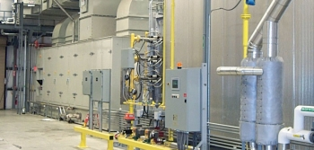 CHP System at Frito Lay facility in Killingly, Connecticut.<br /> <em>Photo courtesy of Energy Solutions Center.</em>
