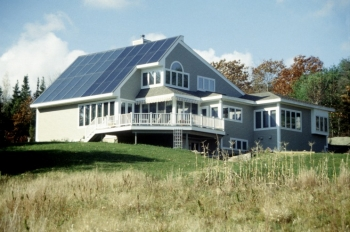 When connecting a home energy system to the electric grid, research and consider equipment required as well as your power provider's requirements and agreements. | Photo courtesy of Solar Design Associates, Inc.