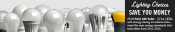 New Lighting Standards Began in 2012