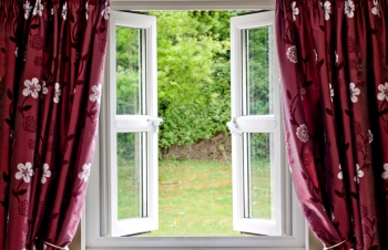 Opening a window is a simple natural ventilation strategy.   Credit: ©iStockphoto/Simotion