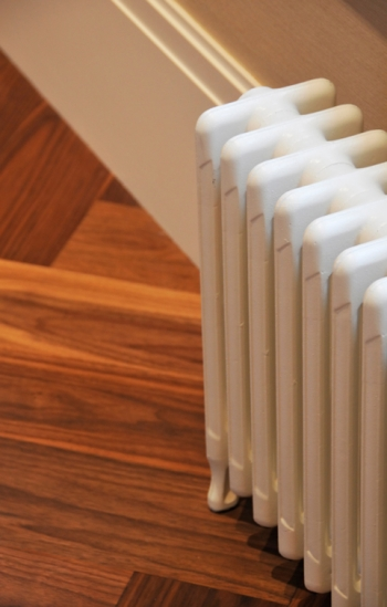 Radiators are used in steam and hot water heating.   Photo courtesy of ©iStockphoto/Jot