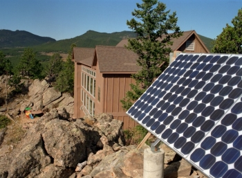 Off-grid, or stand-alone, systems can be more cost-effective than connecting to the grid in remote locations.   Photo courtesy of Dave Parsons.