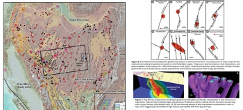 Energy Department investments in adapting play fairway analysis to geothermal exploration could yield a potential 30 gigawatts of additional power from energy hidden deep in the Earth. In this poster, the University of Nevada at Reno illustrates the discovery of blind geothermal systems in the Great Basin Region, which spans 5 western states. source: James Faulds, Nevada Bureau of Mines and Geology