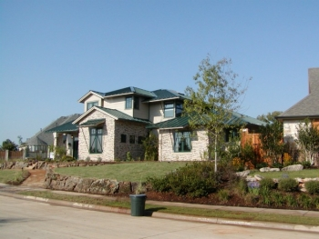 The whole-house systems approach used to design this ultra-efficient home at Lone Star Ranch in Frisco, Texas, resulted in a home that consumes no more energy that its renewable energy systems produce. Photo from Building Science Corporation.