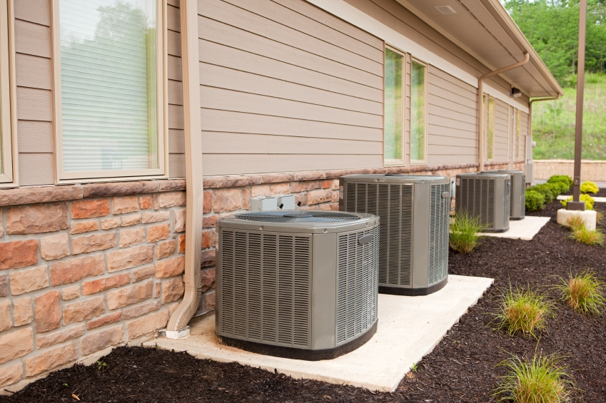 air conditioning. central air conditioners circulate cool through a system of supply and return ducts. | conditioning