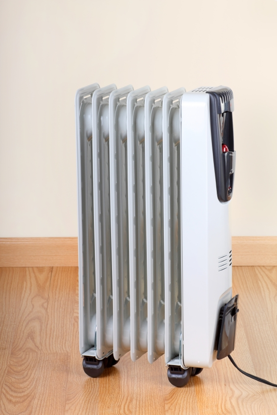 Portable Heaters Can Be An Efficient Way To Supplement Inadequate Heating.  | Photo Courtesy IStockphoto