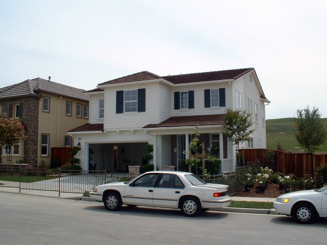 Production Builder Centex Homes Built Ultra Efficient Model Homes In San  Ramon, California.