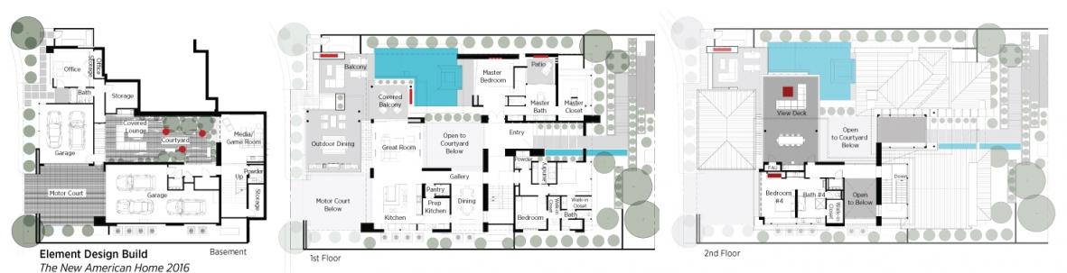 new american floor plans
