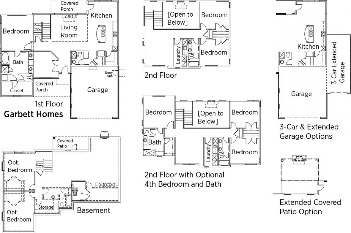 Gallery Of Doe Tour Of Zero Floorplans Net Zeroenergy Home At Rosecrest By  Garbett Homes With Zero Energy Home Design Floor Plans.