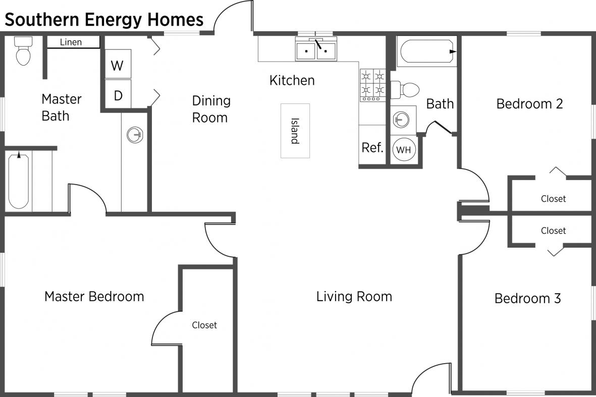 Southern energy homes floor plans carpet review for Southern energy homes floor plans
