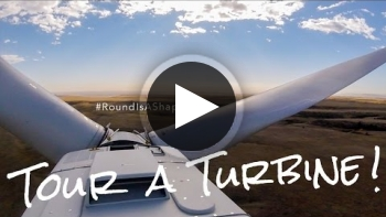 Tour A (Wind) Turbine - #RoundIsAShape