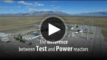 The Difference Between Power and Test Reactors
