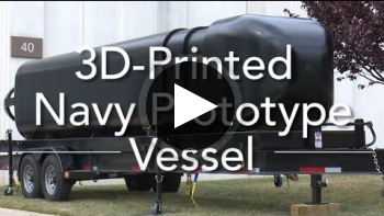 Navy 3D Prints First Submersible Hull