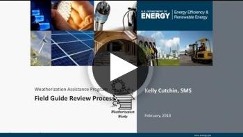 WAP Training: Field Guide Review Process
