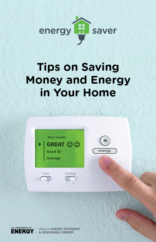 Cover Of Energy Saver Tips On Saving Money And In Your Home