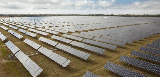 DeSoto County Florida solar power system
