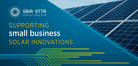 Solar Topics in Small Business Innovation Research and Small