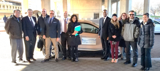 Doe Hosts A Hydrogen Fuel Cell Car Learn Ride Drive To