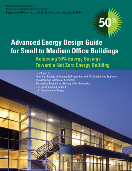 Advanced Energy Design Guides Department Of Energy