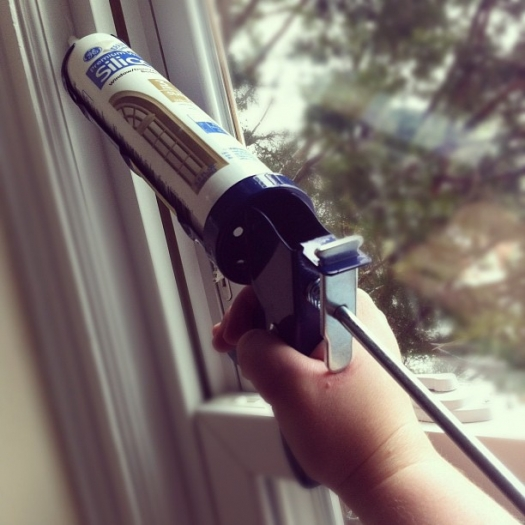 Savings Project How To Seal Air Leaks With Caulk Department Of Energy