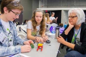 Getting a Head Start for Women in STEM