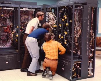 70s Supercomputer Style