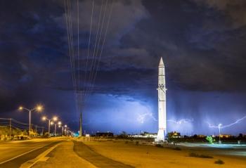 A Storm in Albuquerque, New Mexico