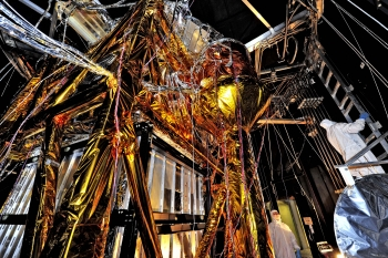 "The Webb Telescope's ""Golden Spider"""