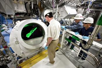 Real-Life Laser Device or Star Trek Set?