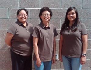 2009 interns: Prestene Garnenez,  Sandra Begay-Campbell & Gepetta Billie