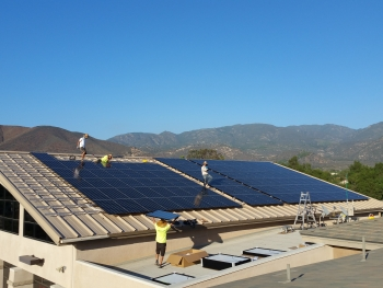 Pala Band of Mission Indians' Solar-Powered Fire Station