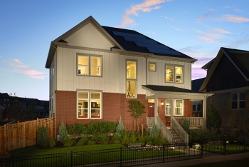 Doe tour of zero hyland village by thrive home builders for Thrive homes denver