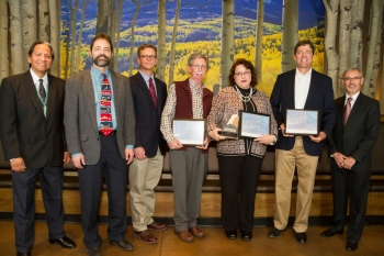 LM received the 2017 State Historic Preservation Officer's Award at the History Colorado Center on February 1, 2017.