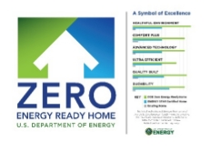 The Zero Energy Ready Home label.